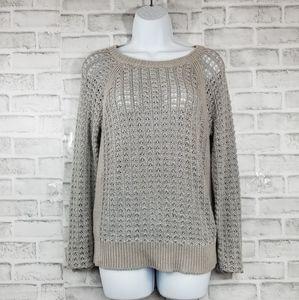 100 cotton loft sweater top blouse shirt long slee